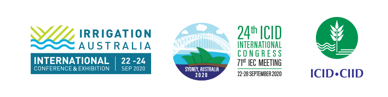 71st International Executive Council Meeting & 24th ICID International Congress on Irrigation and Drainage & Irrigation Australia National Conference & Exhibition, 2020